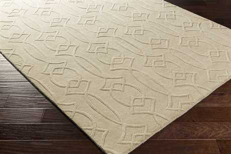 Surya Antoinette Rectangular Cream Area Rug