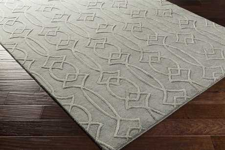 Surya Antoinette Rectangular Medium Gray Area Rug