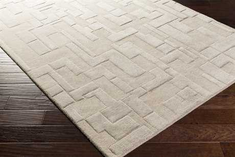 Surya Antoinette Rectangular Light Gray Area Rug