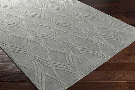 Surya Antoinette Rectangular Charcoal Area Rug
