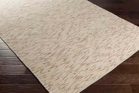 Surya Azizi Rectangular Burnt Orange & Ivory Area Rug