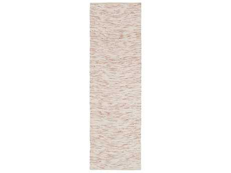 Surya Azizi 2'6'' x 8' Rectangular Burnt Orange & Ivory Runner Rug