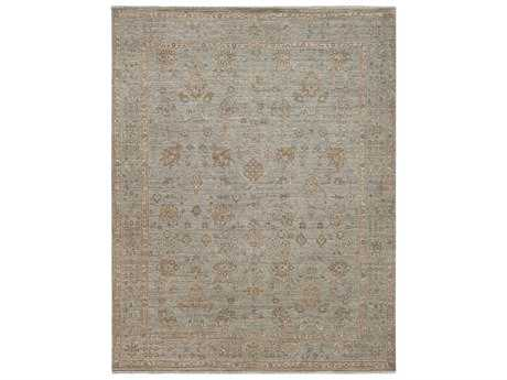 Surya Bala Rectangular Gray Area Rug