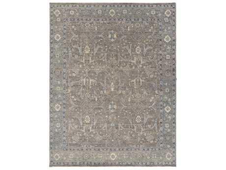 Surya Bala Rectangular Light Gray, Taupe & Medium Gray Area Rug