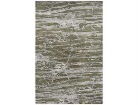 Surya Banshee Rectangular Green Area Rug