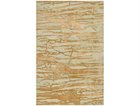 Surya Banshee Rectangular Yellow Area Rug