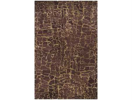Surya Banshee Rectangular Chocolate Area Rug