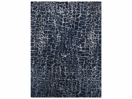 Surya Banshee Rectangular Blue Area Rug