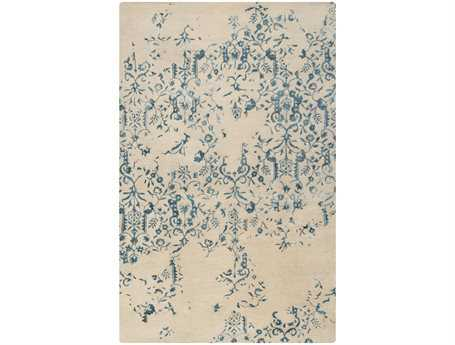 Surya Banshee Rectangular Teal Area Rug