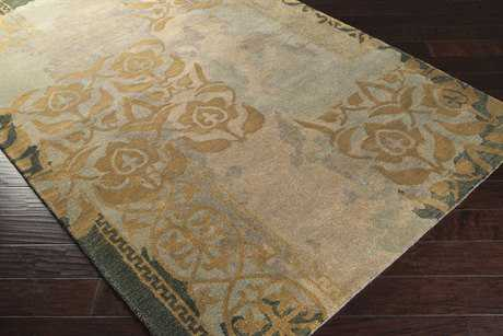 Surya Banshee Rectangular Medium Gray, Camel & Tan Area Rug