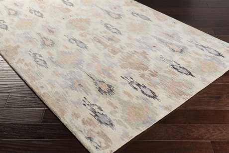 Surya Banshee Rectangular Rose, Pale Blue & Sea Foam Area Rug