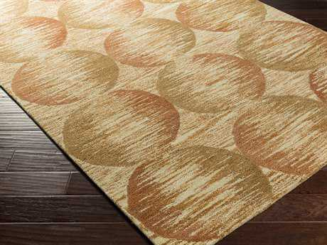 Surya Banshee Rectangular Rust Area Rug