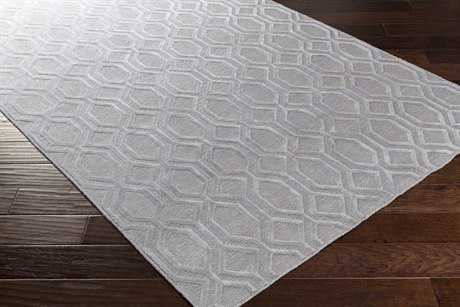 Surya Belvoire Rectangular Silver Gray Area Rug