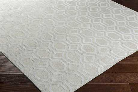 Surya Belvoire Rectangular Light Gray Area Rug