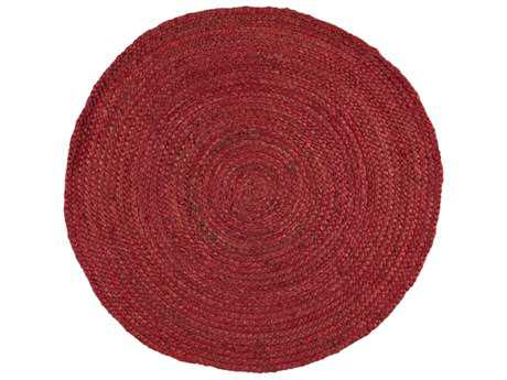 Surya Brice Round Rose Area Rug
