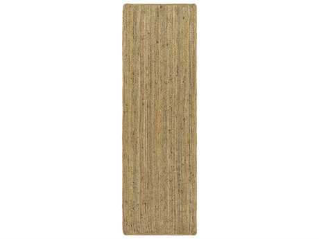 Surya Brice 2'6'' x 8' Rectangular Cream & Camel Runner Rug