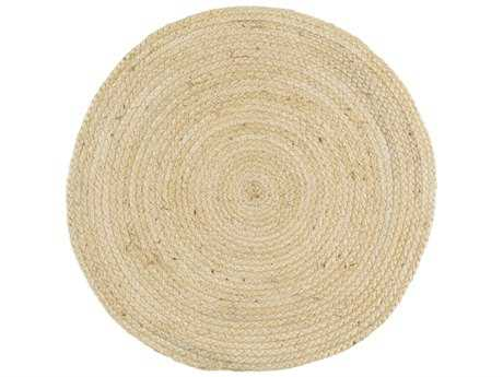 Surya Brice Round Cream Area Rug