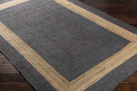 Surya Brice Rectangular Dark Blue & Beige Area Rug