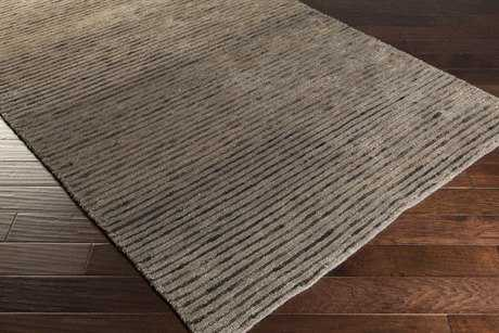 Surya Blend Rectangular Dark Brown & Tan Area Rug