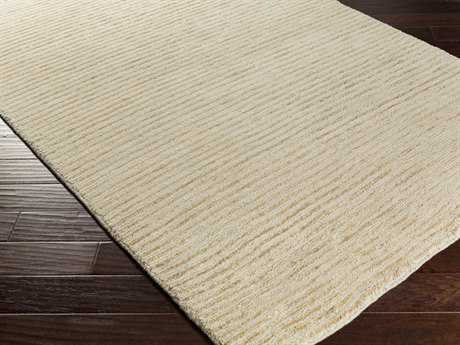 Surya Blend Rectangular Beige Area Rug