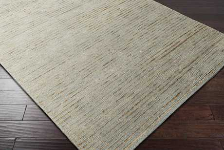 Surya Blend Rectangular Denim & Khaki Area Rug