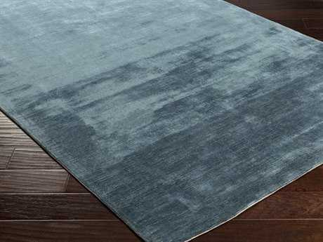 Surya Bellatrix Rectangular Teal Area Rug