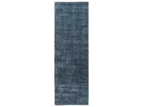 Surya Bellatrix 2'6'' x 8' Rectangular Teal Runner Rug
