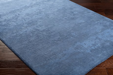 Surya Bellatrix Rectangular Navy Area Rug