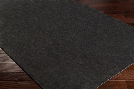 Surya Bellatrix Rectangular Black Area Rug