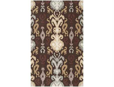 Surya Brentwood Rectangular Brown Area Rug