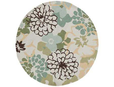 Surya Brentwood Round Green Area Rug