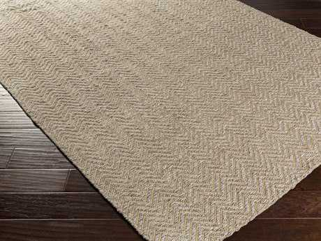 Surya Boca Rectangular Beige & Light Gray Area Rug