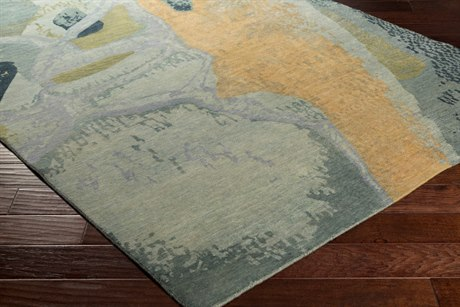 Surya Brought to Light Rectangular Sea Foam Area Rug