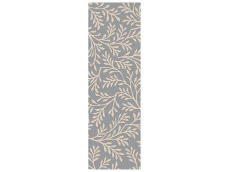 Surya Brilliance 2'6'' x 8' Rectangular Slate Runner Rug