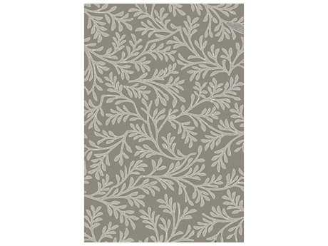 Surya Brilliance Rectangular Light Gray Area Rug
