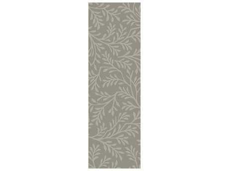 Surya Brilliance 2'6'' x 8' Rectangular Light Gray Runner Rug
