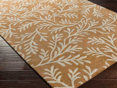 Surya Brilliance Rectangular Tan Area Rug