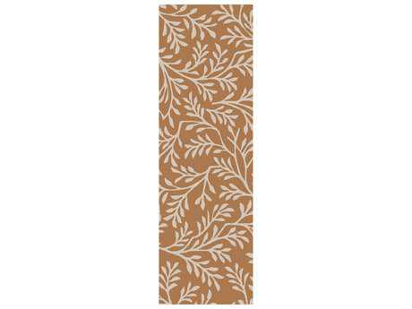 Surya Brilliance 2'6'' x 8' Rectangular Tan Runner Rug