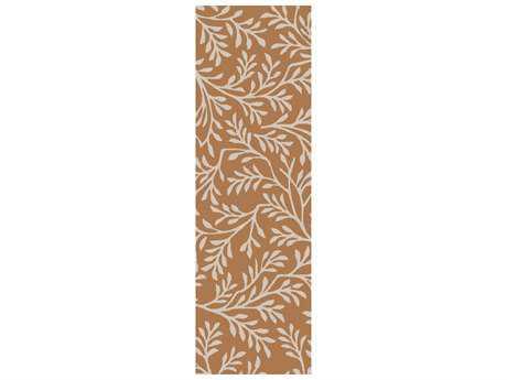 Surya Brilliance 2'6'' x 8' Rectangular Tan Runner Rug