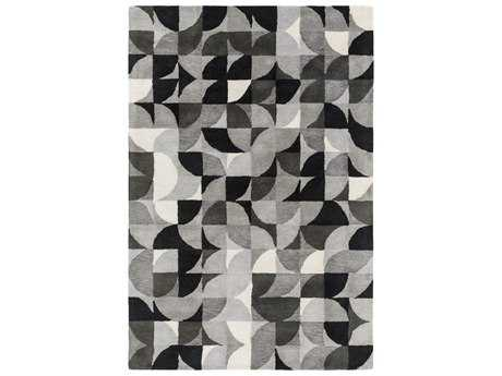 Surya Brilliance Rectangular Charcoal Area Rug
