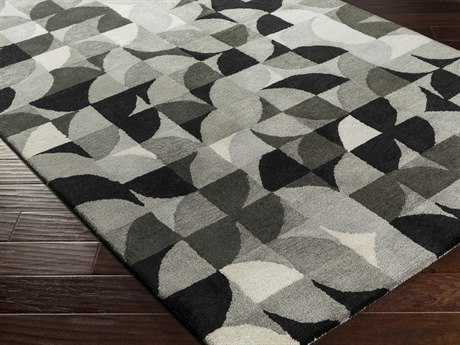 Surya Brilliance Rectangular Charcoal Area Rug