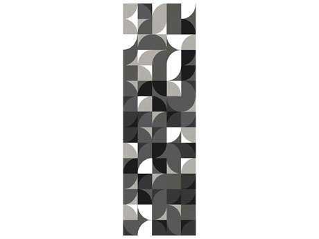Surya Brilliance 2'6'' x 8' Rectangular Charcoal Runner Rug