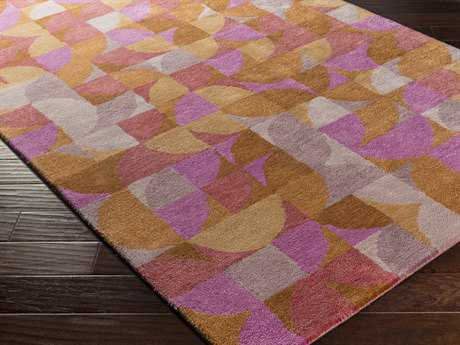 Surya Brilliance Rectangular Magenta Area Rug