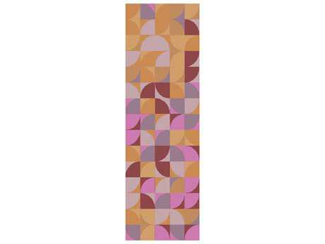 Surya Brilliance 2'6'' x 8' Rectangular Magenta Runner Rug