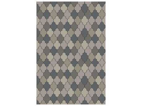 Surya Brilliance Rectangular Gray Area Rug