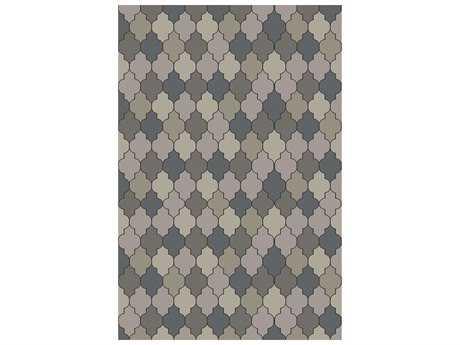 Surya Brilliance Rectangular Gray Area Rug
