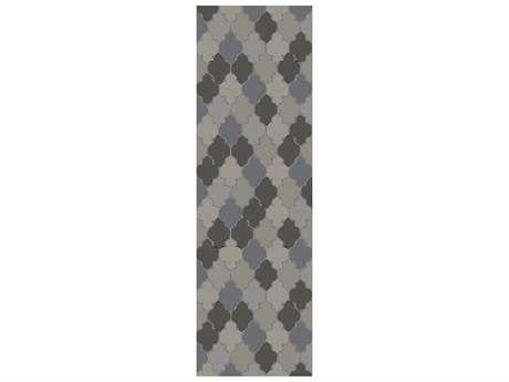 Surya Brilliance 2'6'' x 8' Rectangular Gray Runner Rug