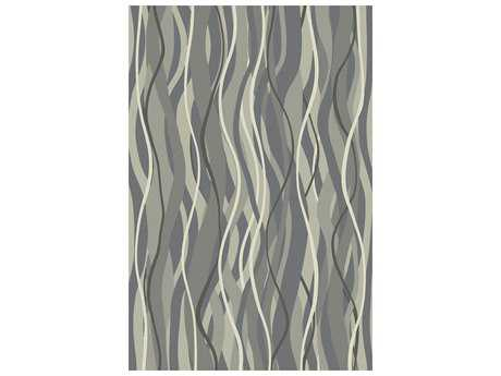 Surya Brilliance Rectangular Moss & Light Gray Area Rug