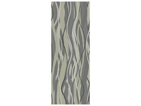 Surya Brilliance 2'6'' x 8' Rectangular Moss & Light Gray Runner Rug