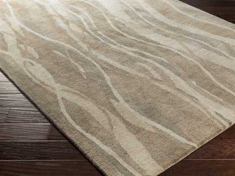 Surya Brilliance Rectangular Taupe Area Rug